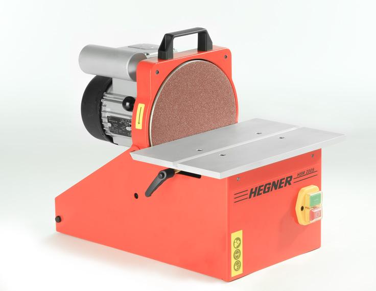 Hegner Scheibenschleifmaschine HSM 200