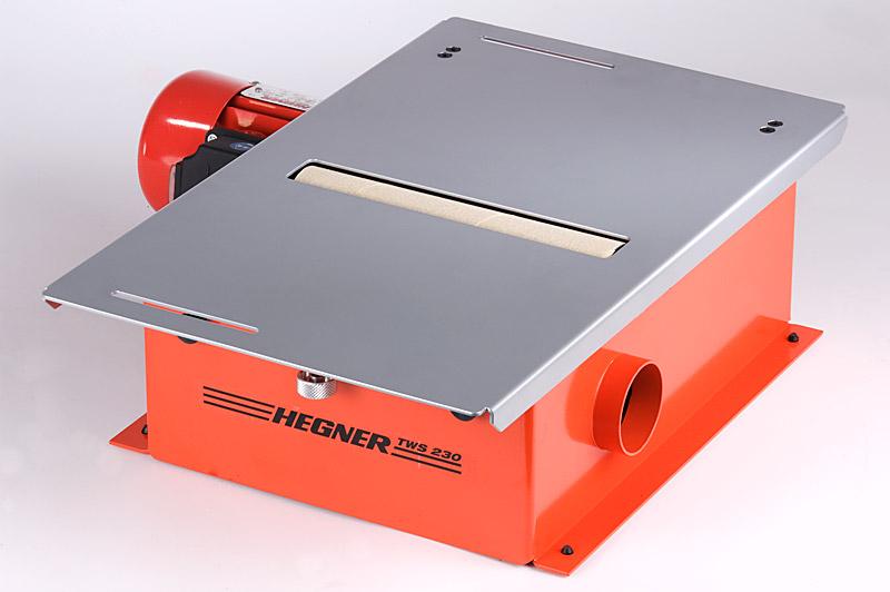 Hegner Tischwalzenschleifmaschine TWS 230