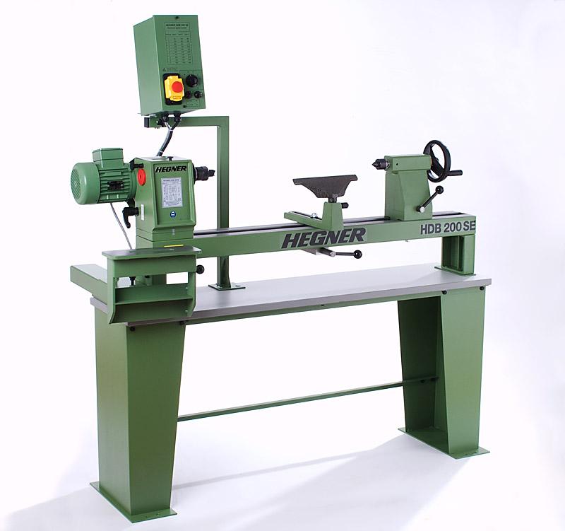 Holzdrehbank 200 SE, Präzisionsmaschinen für die Holzbearbeitung, Drechselmaschinen