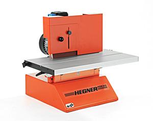 Schutzeinrichtung zur Scheibenschleifmaschine HSM300, Hegner, Qualität